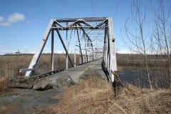Ponte abandonada em Alaska fotos de stock royalty free