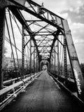 Ponte abbandonato Fotografia Stock