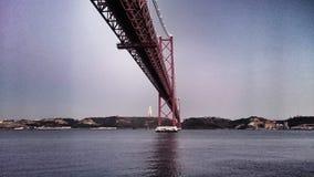 Ponte 25 Abril Στοκ Εικόνες