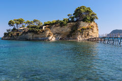 Ponte ad Agios Sostris Fotografie Stock