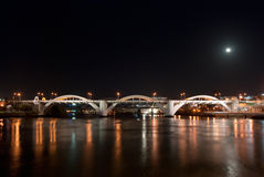 Ponte alegre Brisbane de William, Austrália Fotos de Stock Royalty Free