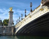 Ponte Alexander 3 Immagine Stock