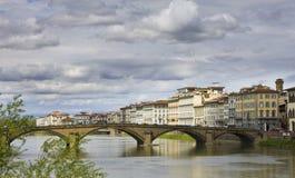 Ponte Alla Carraia Brücke Stockbild