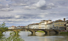 Ponte Alla Carraia Bridge Stock Image