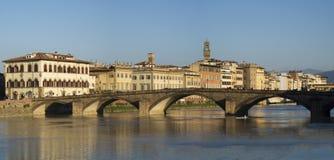 Ponte alla Carraia, Bridge on the Arno river, Florence Royalty Free Stock Image