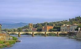 Ponte alla Carraia Bridge Stock Photo