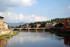 Ponte alle Grazie Stock Photography