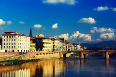 Ponte alle Grazie Stock Images