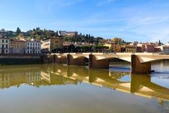 Ponte Alle Grazie Stock Image
