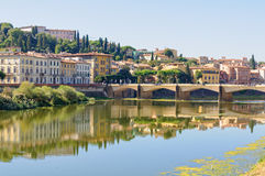 Ponte alle Grazie - Florence Stock Image