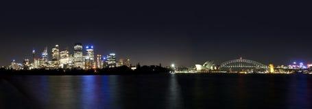 Ponte & teatro da ópera de porto de Sydney Imagem de Stock