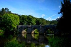 Ponte antiga Imagens de Stock Royalty Free