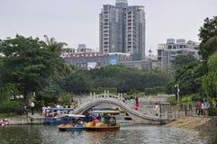 Ponte antiga do arco de China Fotos de Stock Royalty Free