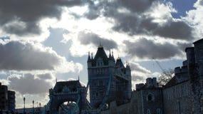 Ponte antiga em Grâ Bretanha Fotografia de Stock Royalty Free