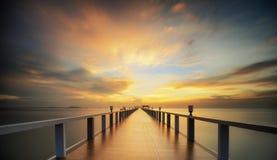 Ponte arborizada Imagem de Stock