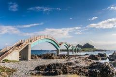 Ponte arqueada Imagem de Stock