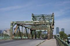Ponte arrugginito del ferro a Toronto Fotografie Stock Libere da Diritti