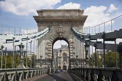 A ponte em Budapest Fotografia de Stock Royalty Free