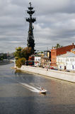 A ponte através do rio de Moscovo Foto de Stock