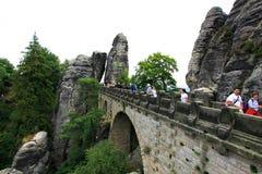 Ponte in Bastai Fotografia Stock Libera da Diritti