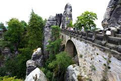 Ponte in Bastai Fotografia Stock
