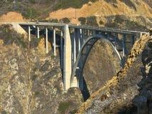 Ponte Big Sur Calfornia di Bixby Fotografia Stock