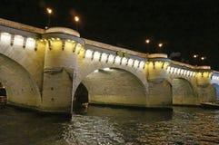 Ponte bonita de Seine River fotos de stock