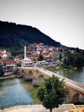 ponte in Bosnia Fotografia Stock