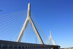Ponte Boston de Zakim Imagens de Stock