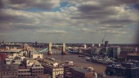 Ponte britannico della torre di Londra Fotografia Stock