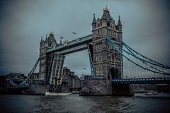 Ponte britannico della torre di Londra Fotografia Stock Libera da Diritti