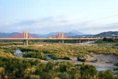 Ponte Cabo-ficada, Hsinchu, Taiwan Fotos de Stock