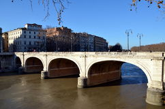 Ponte Cavour in Rome Stock Fotografie