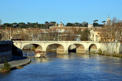 Ponte Cavour Royalty Free Stock Photos