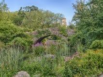 Ponte Central Park de Gapstow, New York City Foto de Stock