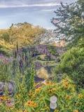 Ponte Central Park de Gapstow, New York City Imagem de Stock Royalty Free