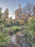Ponte Central Park de Gapstow, New York City Foto de Stock