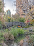 Ponte Central Park de Gapstow, New York City Imagem de Stock Royalty Free