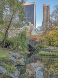 Ponte Central Park de Gapstow, New York City Fotografia de Stock