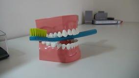 Ponte cerâmica dental vídeos de arquivo
