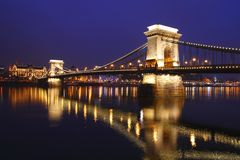 A ponte Chain Fotos de Stock Royalty Free