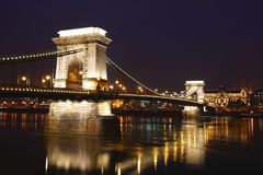 A ponte Chain Imagens de Stock Royalty Free