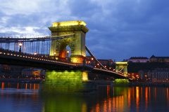 Ponte Chain Fotografia de Stock Royalty Free