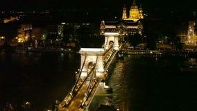 Ponte Chain, Budapest vídeos de arquivo