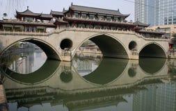 Ponte Chengdu di Anshun Immagine Stock