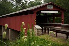 Ponte coberta Imagens de Stock