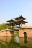 Ponte coberta chinesa Fotografia de Stock
