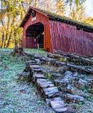 Ponte coberta da angra da tração Foto de Stock