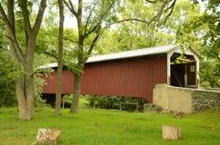 Ponte coberta da estrada de Belmont imagem de stock