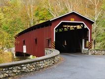 Ponte coberta de Colemanville fotos de stock royalty free